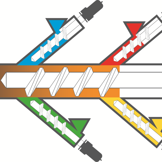 Multi-Materialdruckkopf für die bioinspirierte Bauteilfertigung