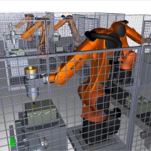 Virtuelle Roboterzelle
