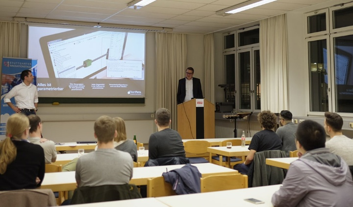 """Industrie-Student-Come-Together"" Veranstaltung am ISW (c)"