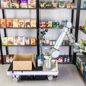 Die SeRoNet-Plattform eröffnet ganz neue Geschäftsmodelle für gewerbliche Serviceroboter wie beispielsweise mobile Systeme in der Logistik.