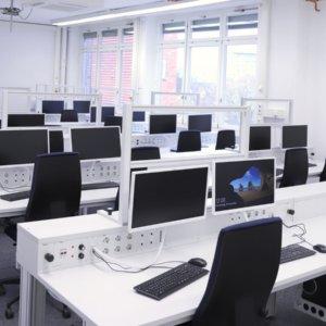 Mit vernetzten Arbeitsplätzen können komplexe Produktionsbedingungen simuliert werden ISW Uni Stuttgart