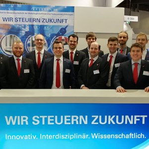 ISW-Messestand 2018 in Nürnberg