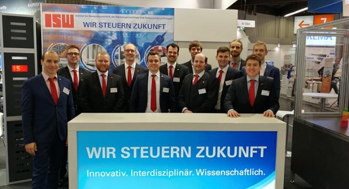 ISW-Messestand 2018 in Nürnberg