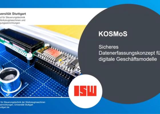 Vorschau-BildKOSMoS - Die nächste Welle der Digitalisierung am ISW