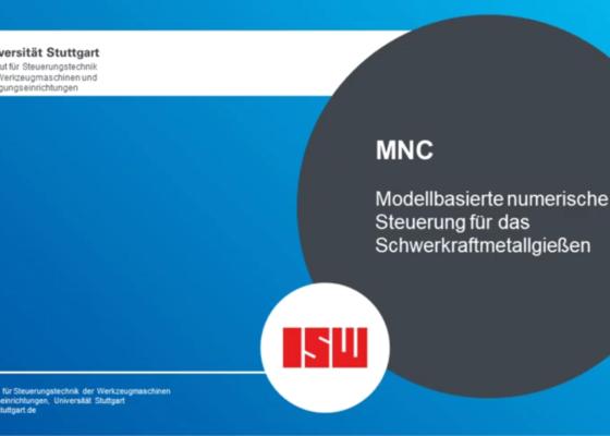 Vorschau-BildModellbasierte numerische Steuerung für das Schwerkraftmetallgießen