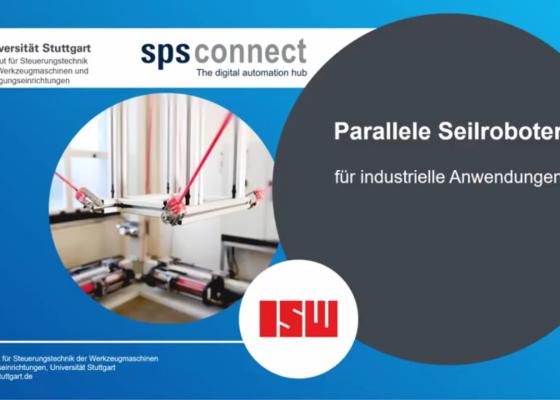 Vorschau-BildParallele Seilroboter für industrielle Anwendungen