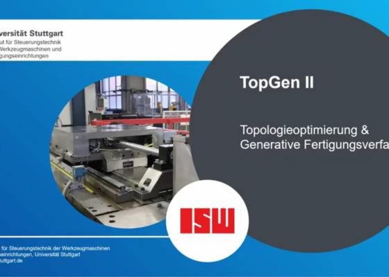 Vorschau-BildTopGen II - Topologisch optimierte Bauteile für generative Fertigungsverfahren
